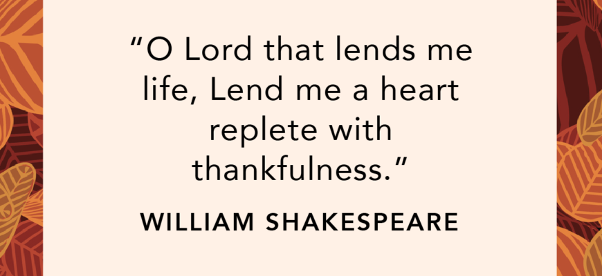 70 Days Of Thankfulness: Week Six