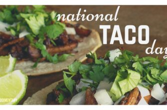 Food Holidays: National Taco Day October 4th