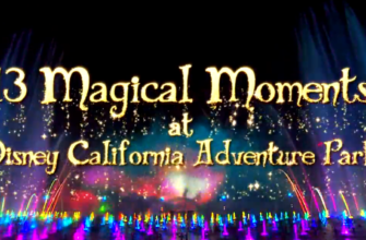 The Top Ten Magical Moments For The Holidays At Disneyland's California Theme Parks