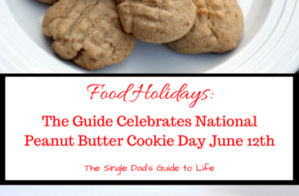 Food Holidays: The Guide Celebrates National Peanut Butter Cookie Day June 12th